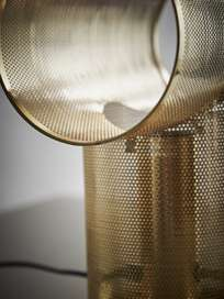 Rack Table Lamp - Gold
