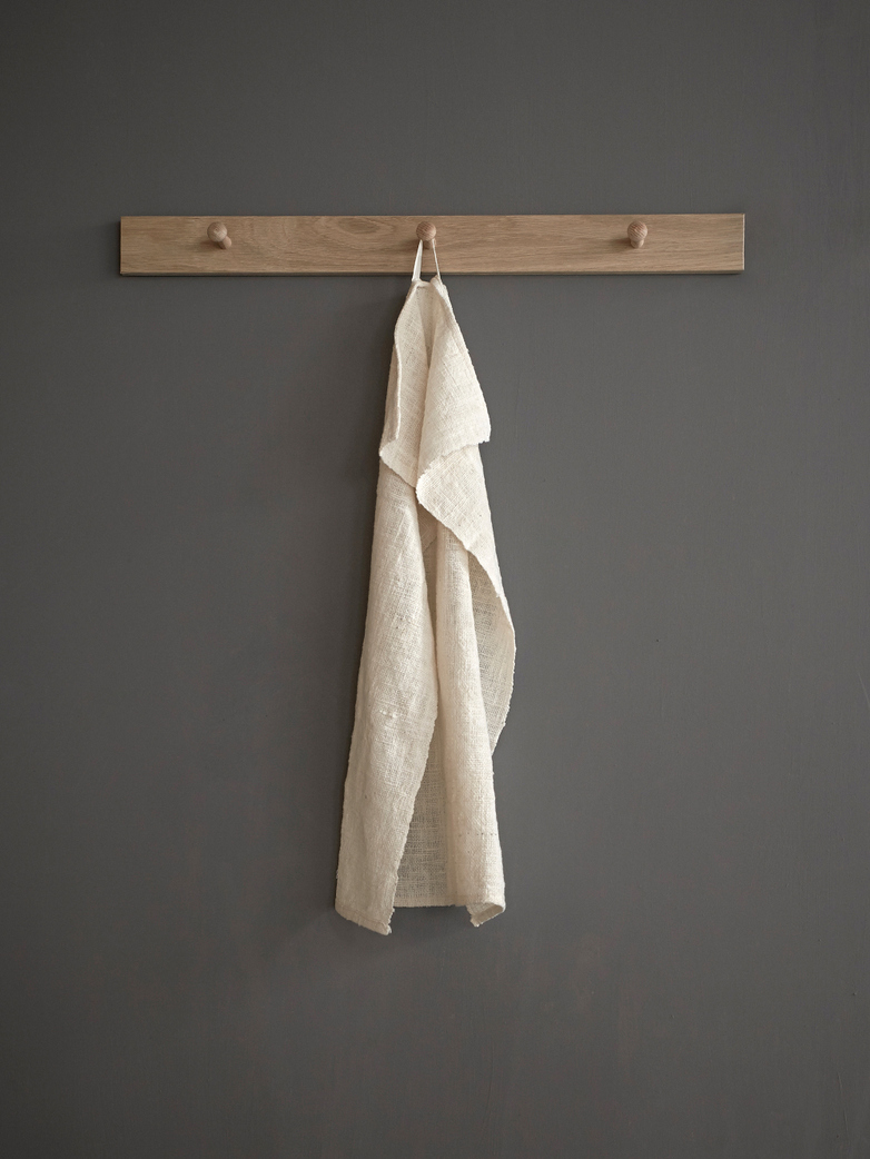 Kitchen Towel Hand Woven - White