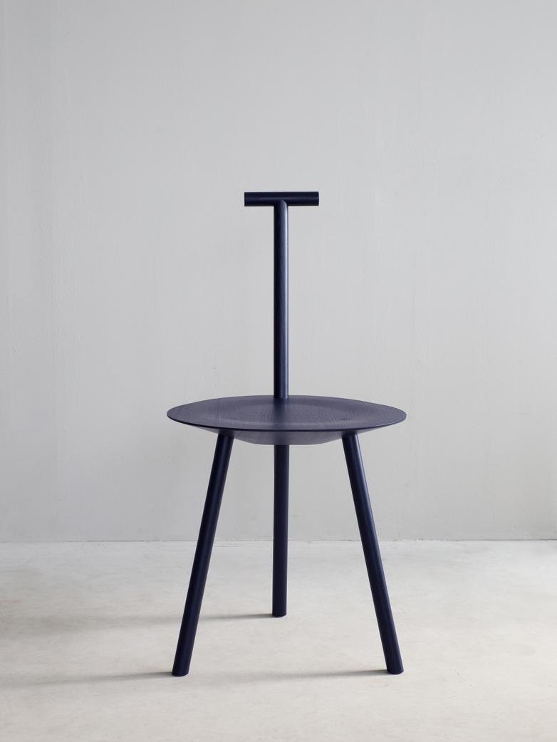 Spade Chair - Navy Blue
