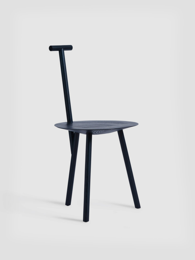 Spade chair - Stained Navy Blue