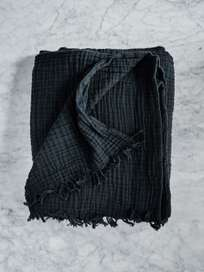 Crinkle Plaid Anthracite