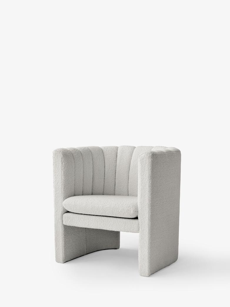 Loafer Lounge Chair - SC23 - Karakorum Ivory