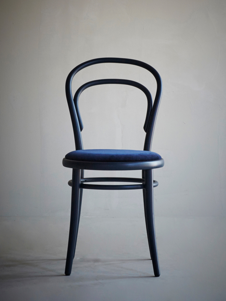 Artilleriet Exclusive - Chair No 14 - Dark Blue – Velvet