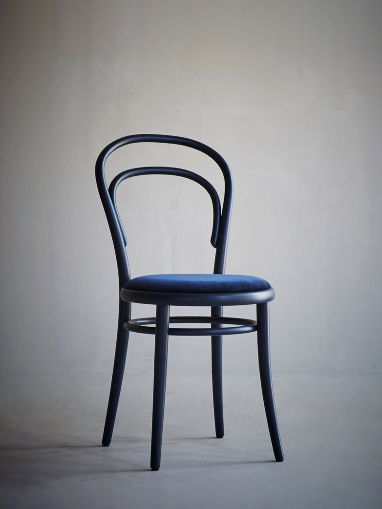 Artilleriet Exclusive - Chair 14 - Dark Blue Velvet