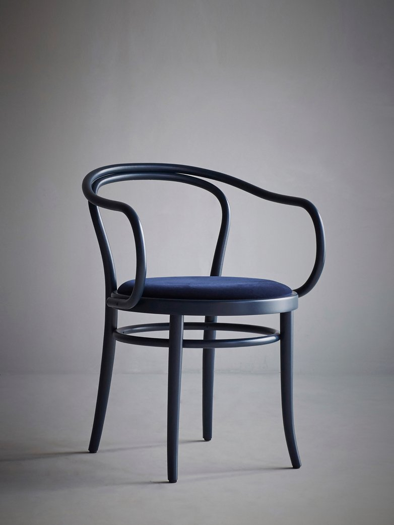 Artilleriet Exclusive - Chair No 30 - Dark Blue – Velvet
