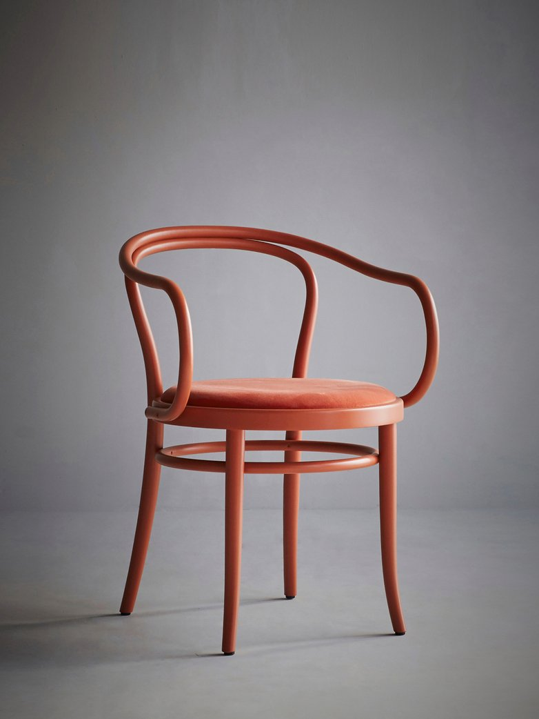Artilleriet Exclusive – Chair No 30 – Coral – Velvet