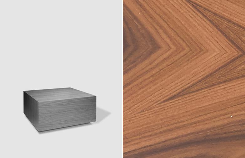Boxed Sofa Table – 75 x 75 – Santos Rosewood