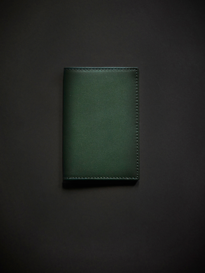 Classic Card Wallet Bottle Green