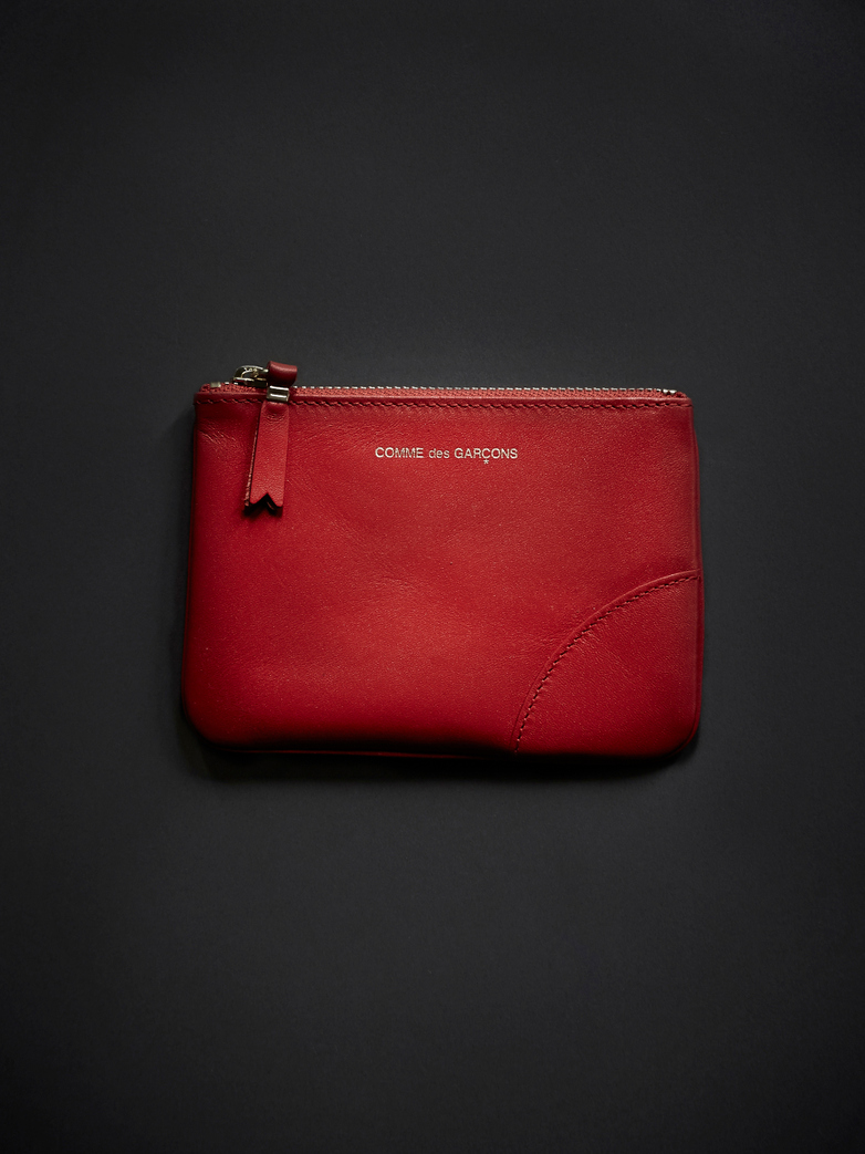Classic Zip Pouch Wallet Small Orange