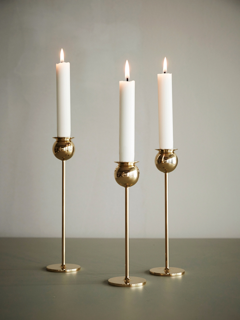Tulip Candleholder Set of 3