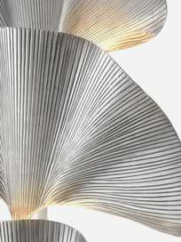 Las Palmas Floor Lamp – Silver Plated