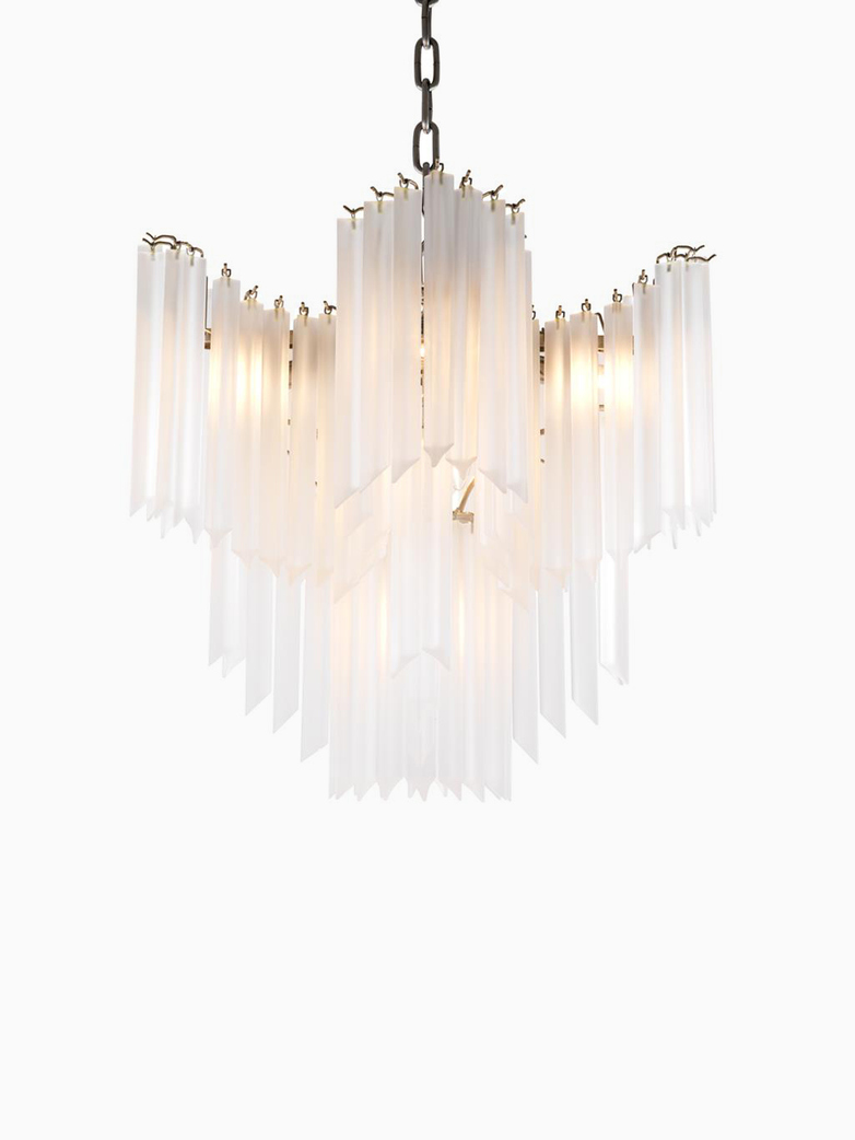 Pulsar Frosted Chandelier