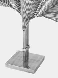 Las Palmas - Table Lamp Silver Plated