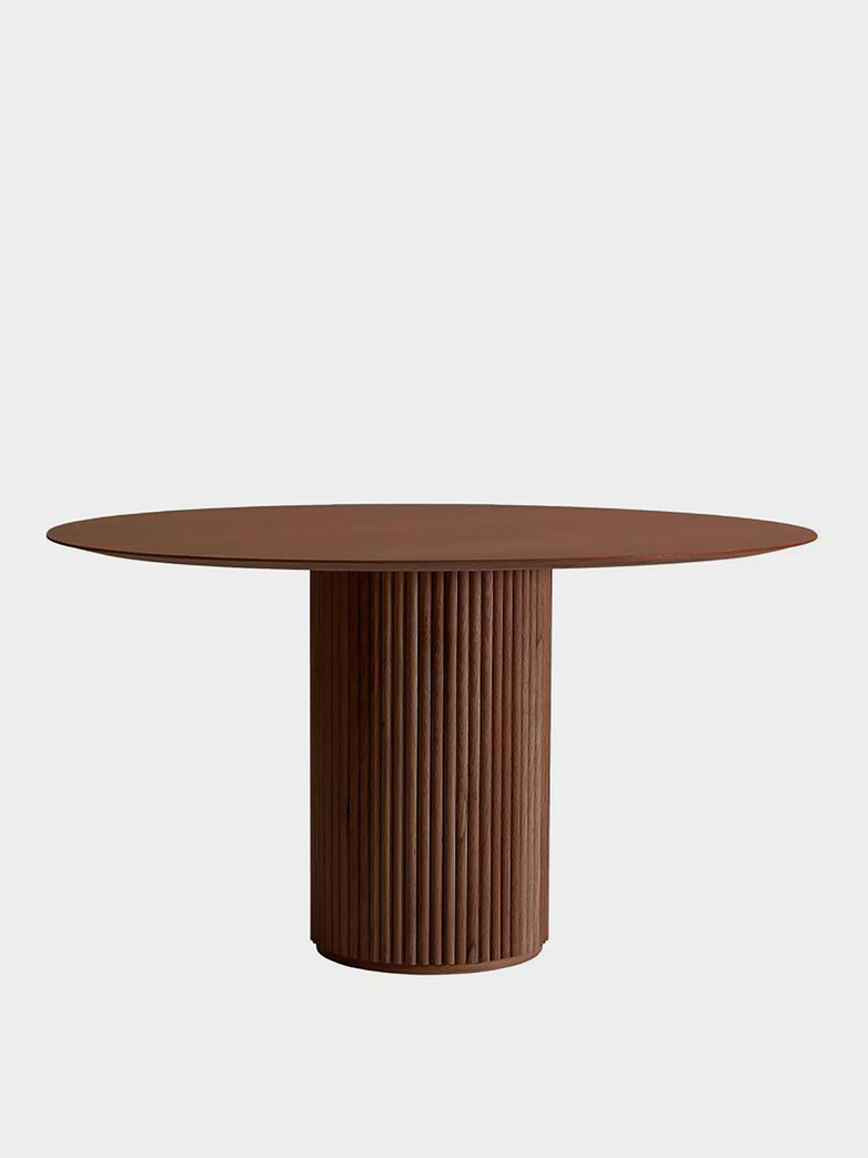 Palais Royal Dining Table - Teak Stained Oak