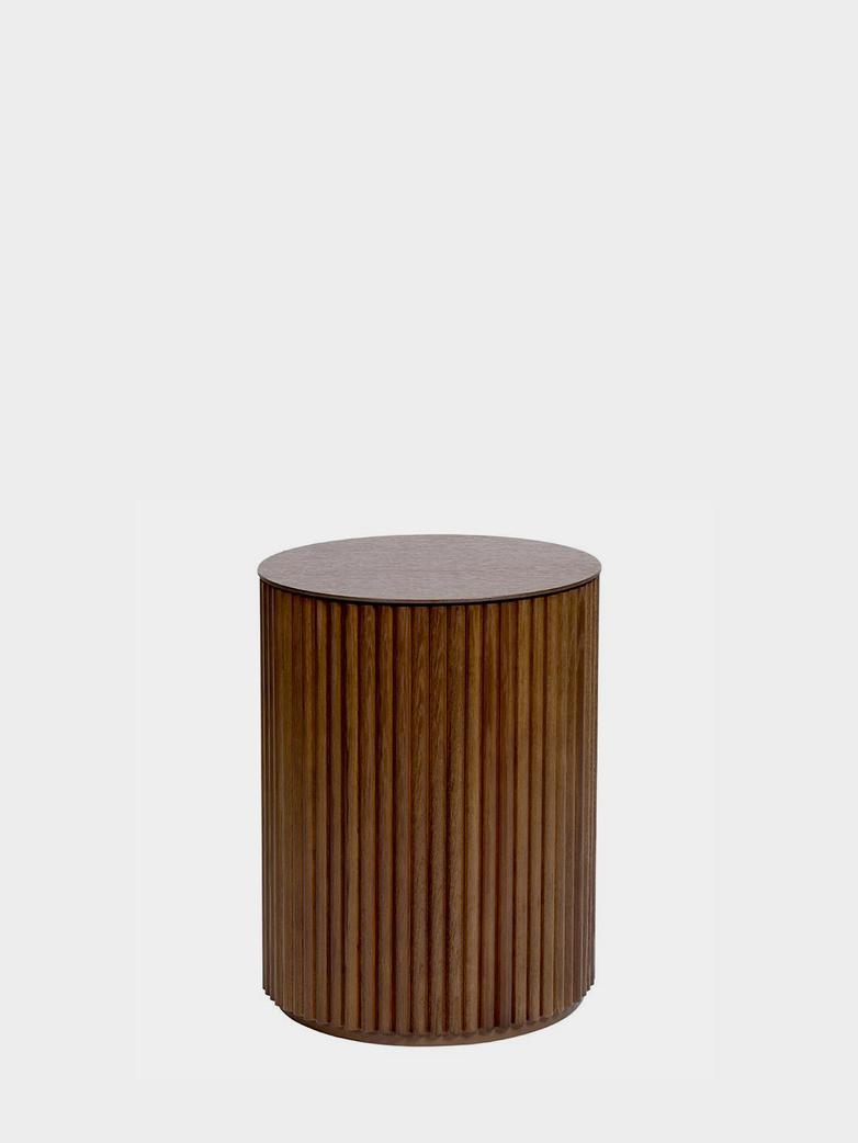 Petit Palais Sofa Table - Teak Stained Oak - Height: 55 cm