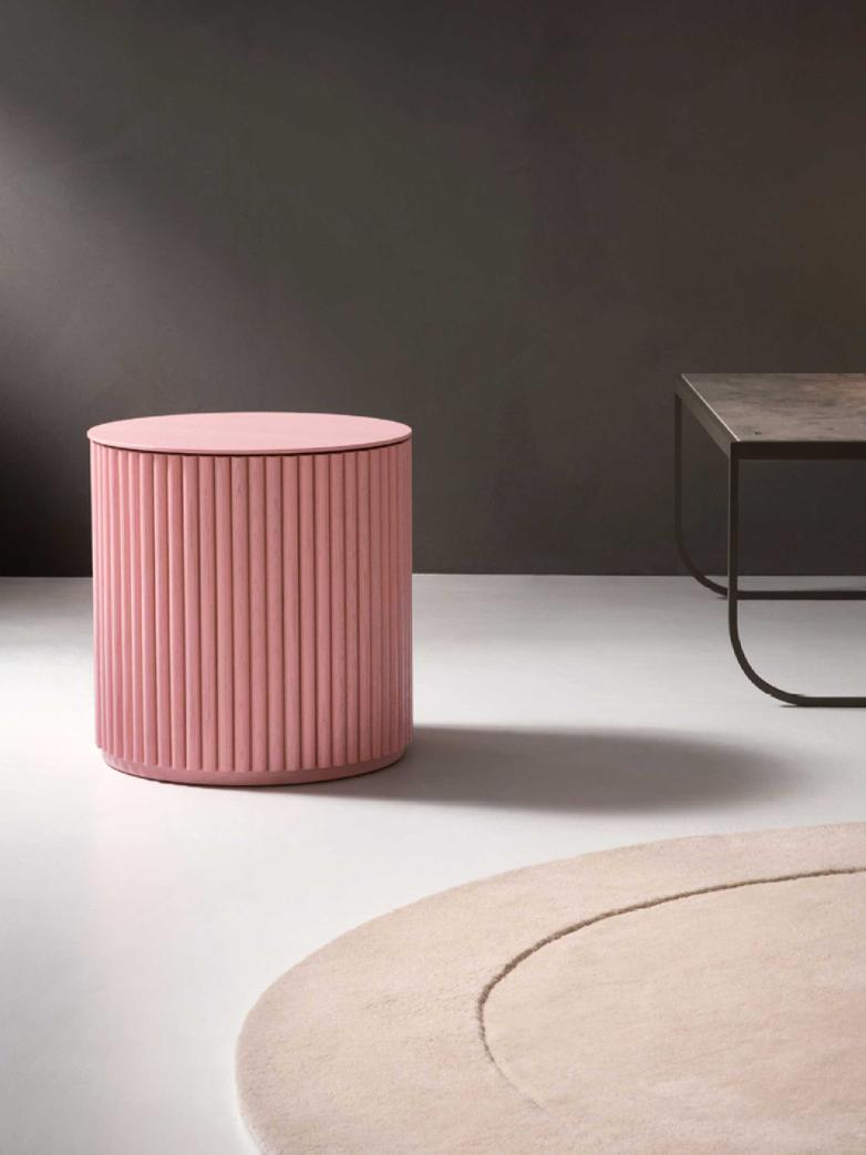 Petit Palais – Dusty Pink Stained Oak