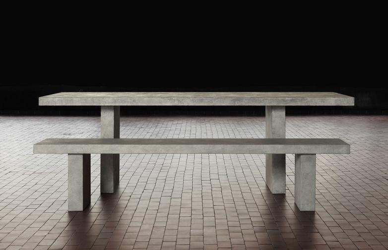 Tommaso Meteorite - Dining Table