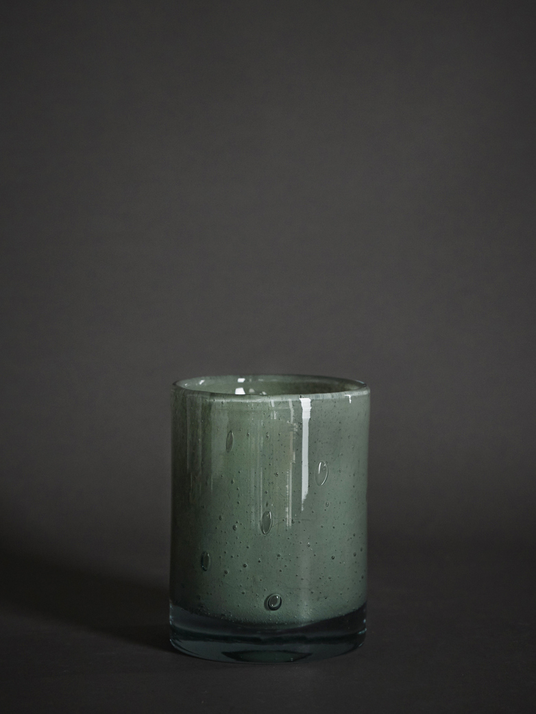 Belle Candle Holder – Mineral Green – Medium