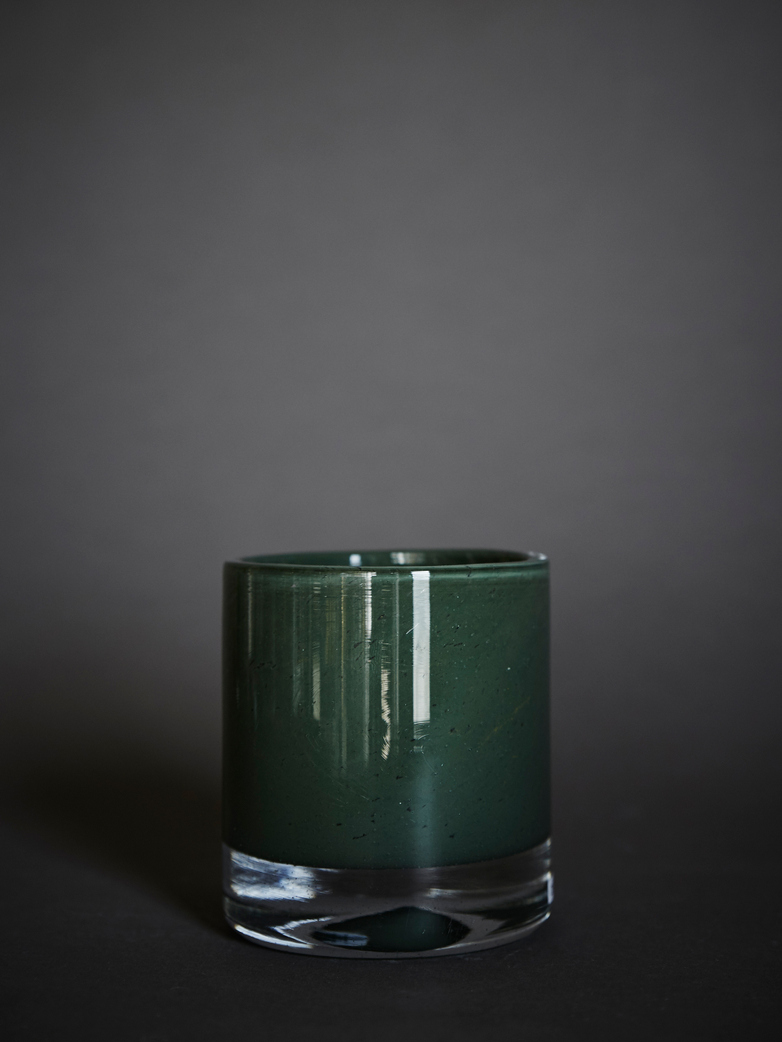 Belle Candle Holder – Swamp Green – Small