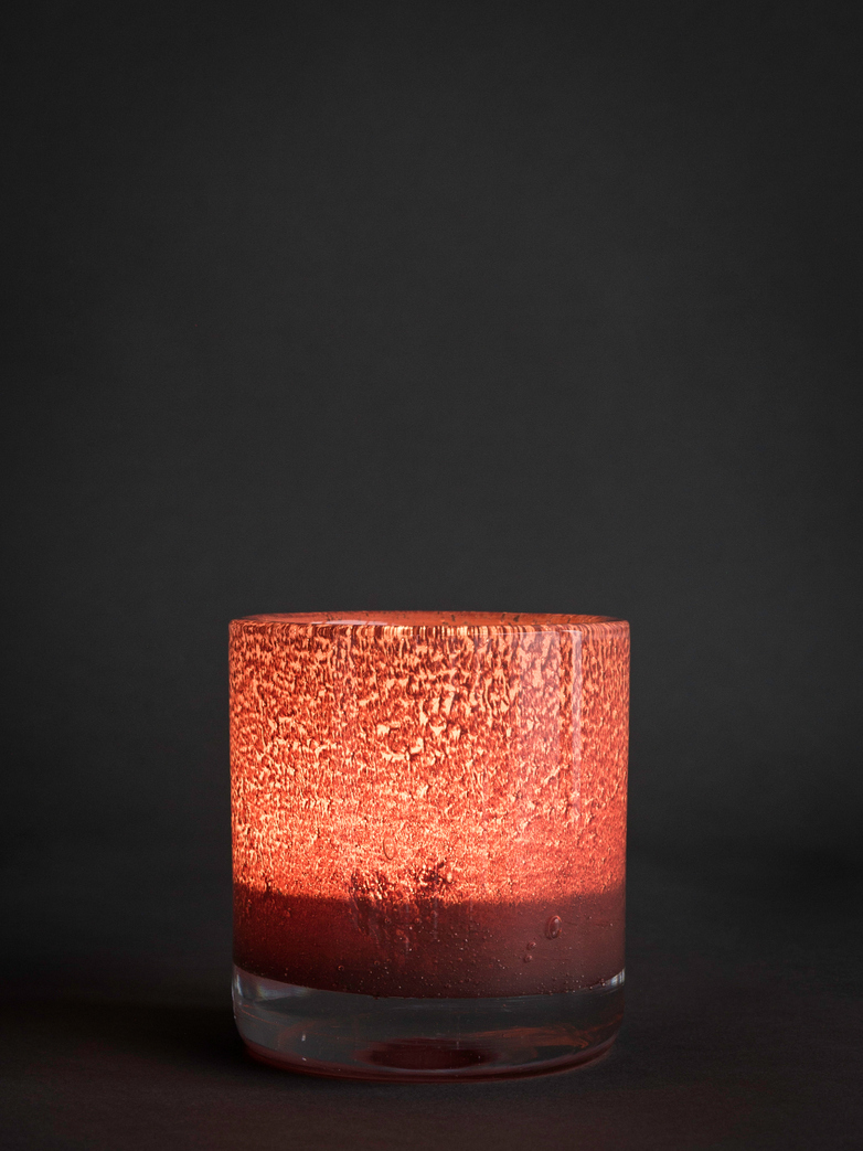Belle Candle Holder Altrosa Rust - Small