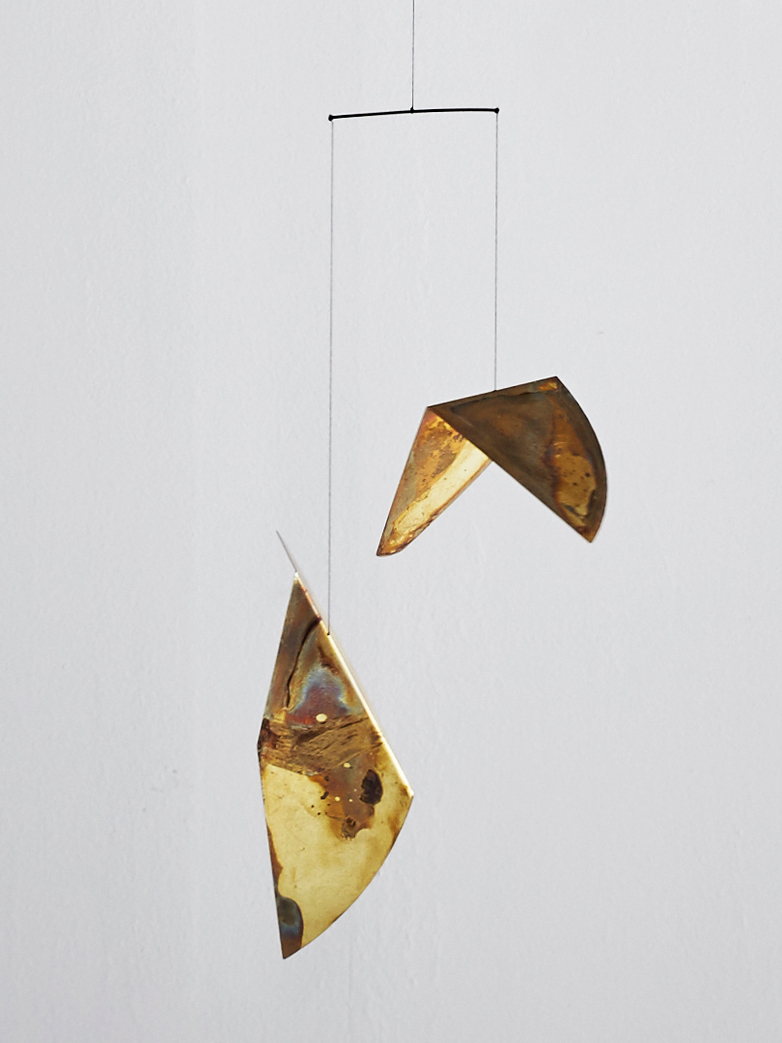 Autumn Leaves Mobile Sculpture