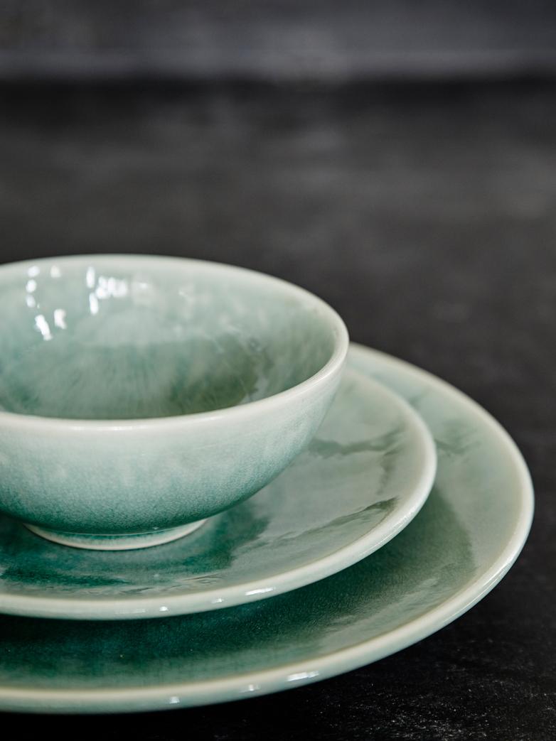 Tourron Jade Dessert Plate