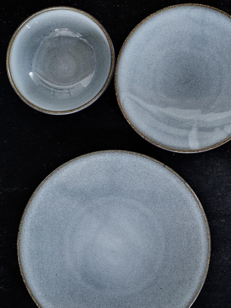 Tourron Ecorce Dessert Plate