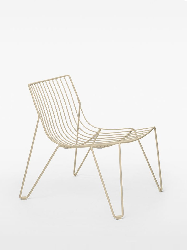 Tio Easy Chair - Ivory