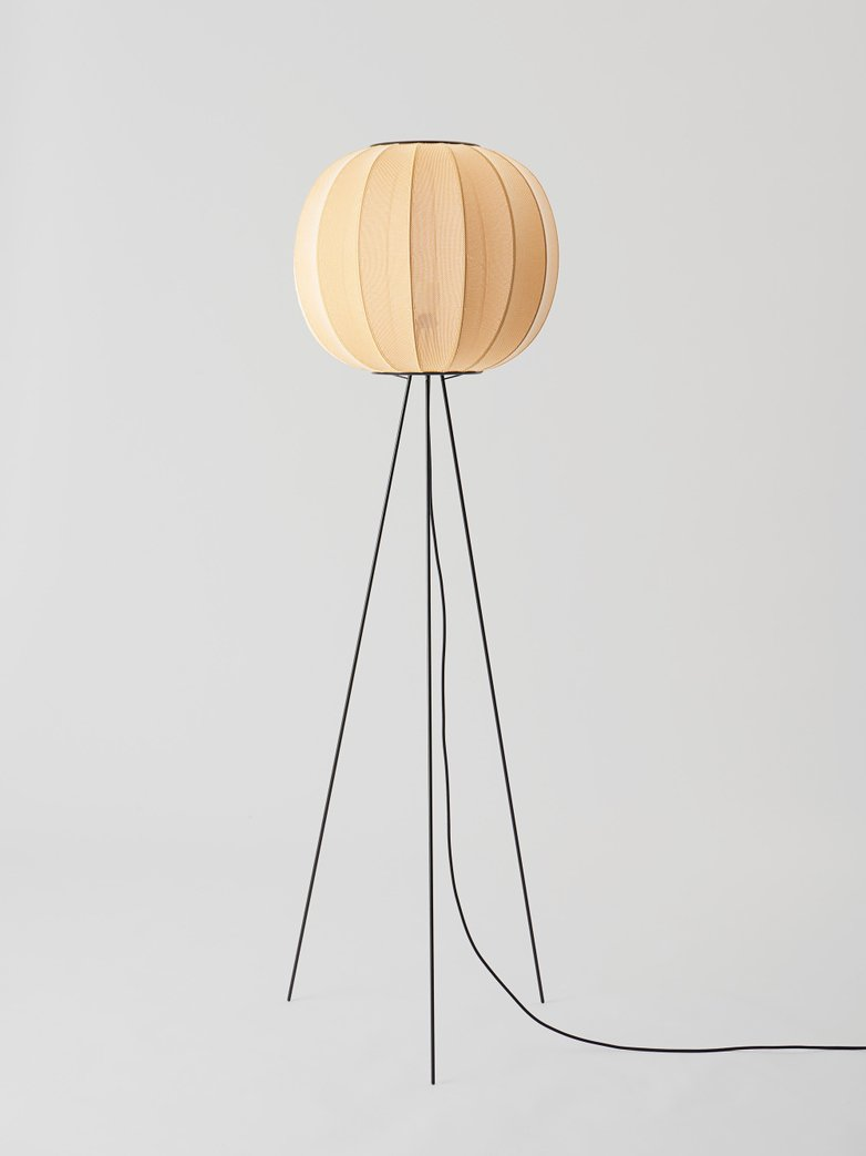 Knit-Wit Floor Lamp - High Round 45 cm