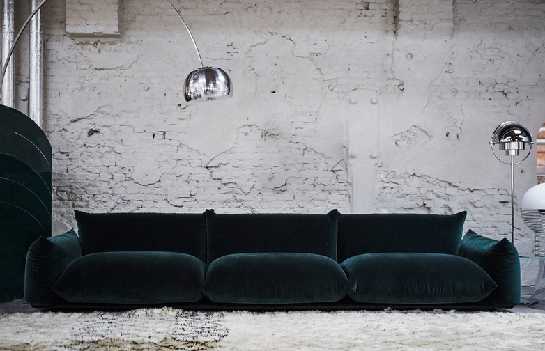 Marenco Sofa – Mistral Dark Green