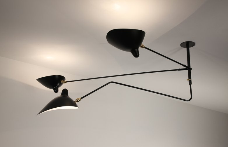 Ceiling Lamp with Three Arms