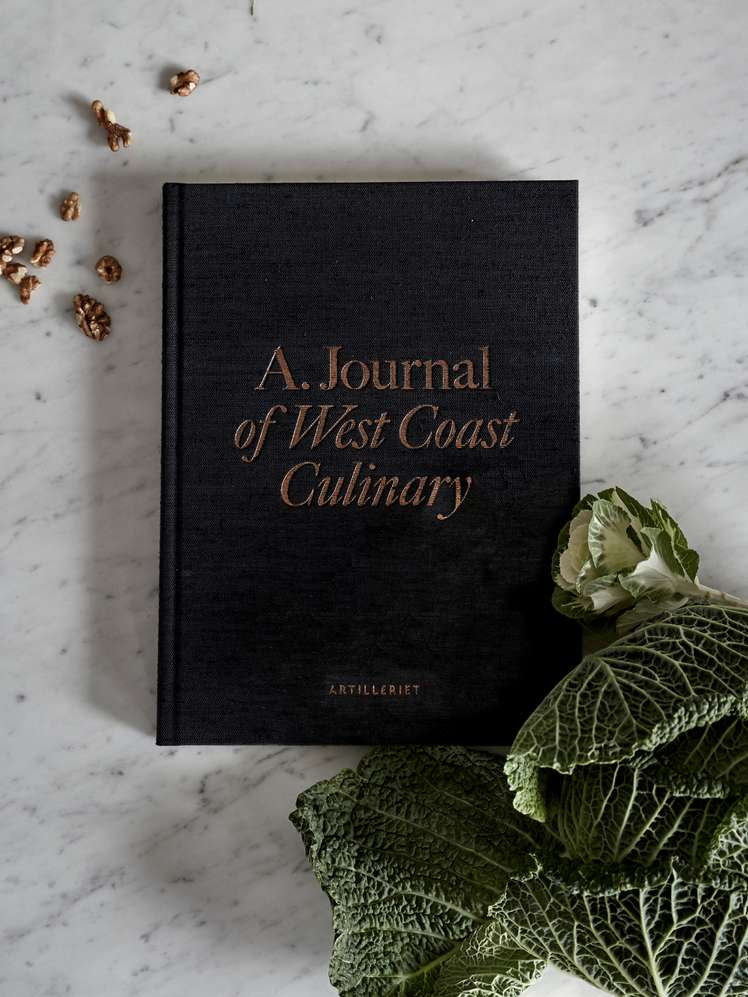 A.Journal of West Coast Culinary - Black Edition - 650 SEK