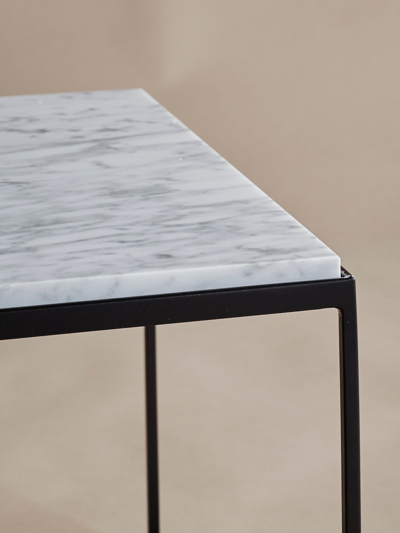 Slim Irony - Low Table Marble