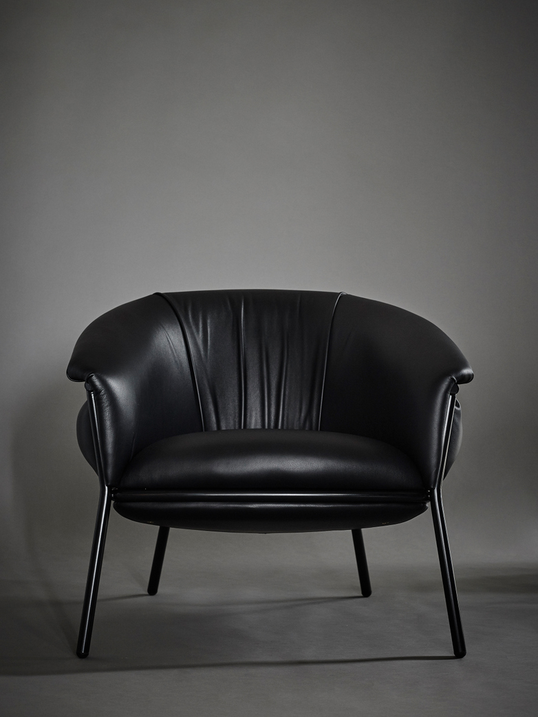 Grasso Armchair - Black