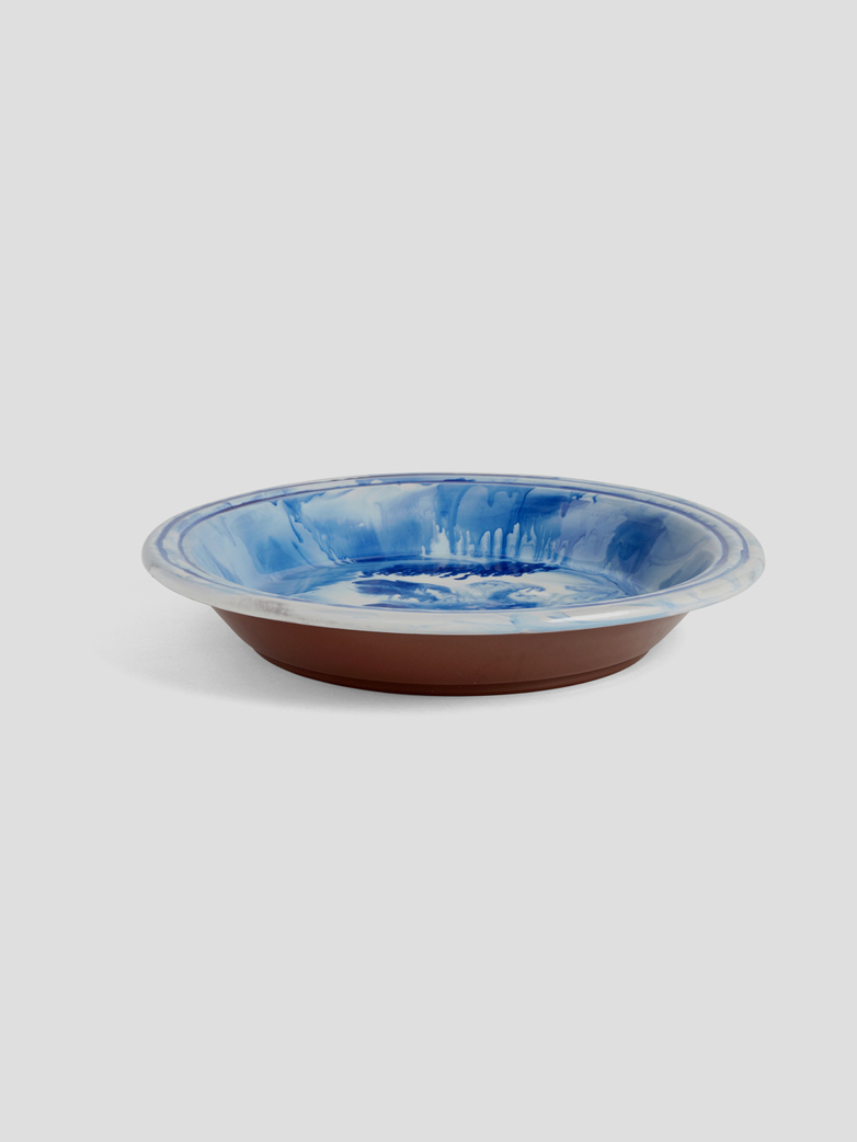 Swirl Bowl - Blue