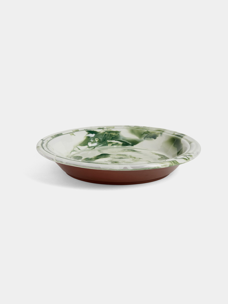 Swirl Bowl - Green