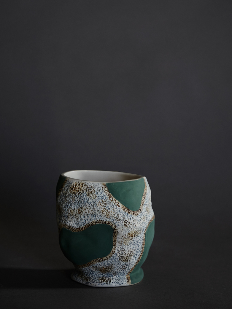 Jessica Hans – Green Cow Mug