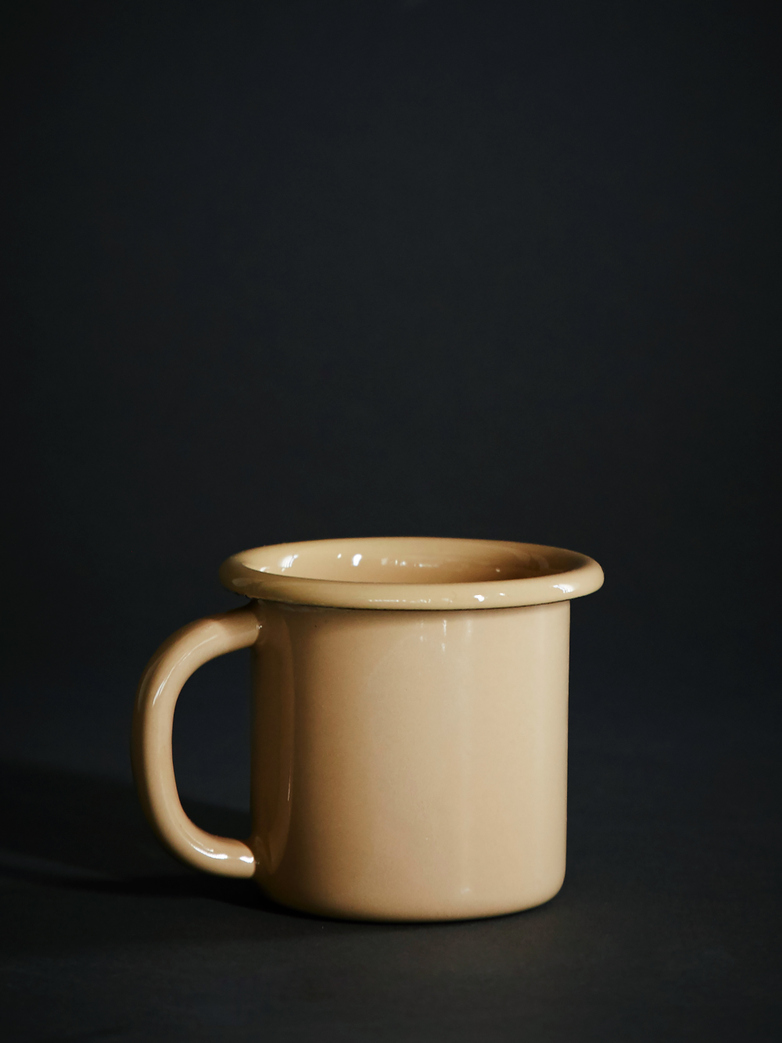 Enamel Mug - Brown