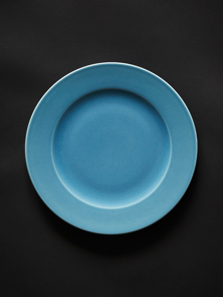Rainbow Plate L - Light Blue