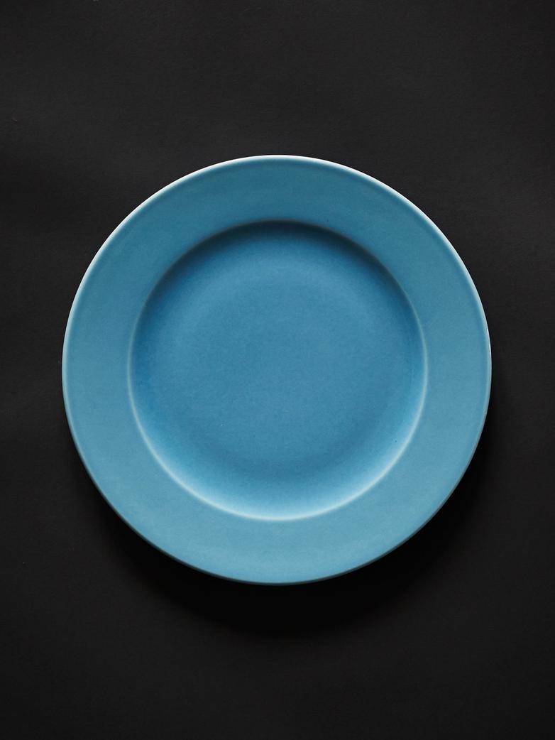 Rainbow Plate L - Light Blue