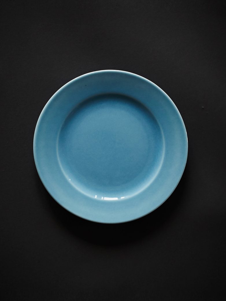Rainbow Plate S - Light Blue