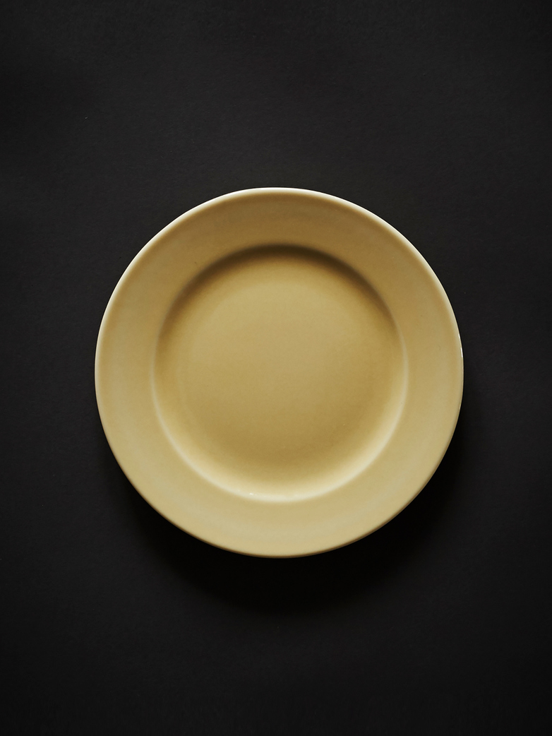 Rainbow Plate S - Light Yellow