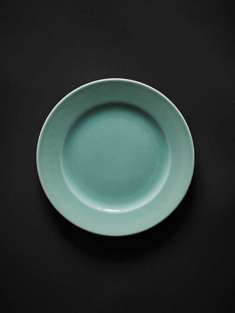 Rainbow Plate S - Mint Green