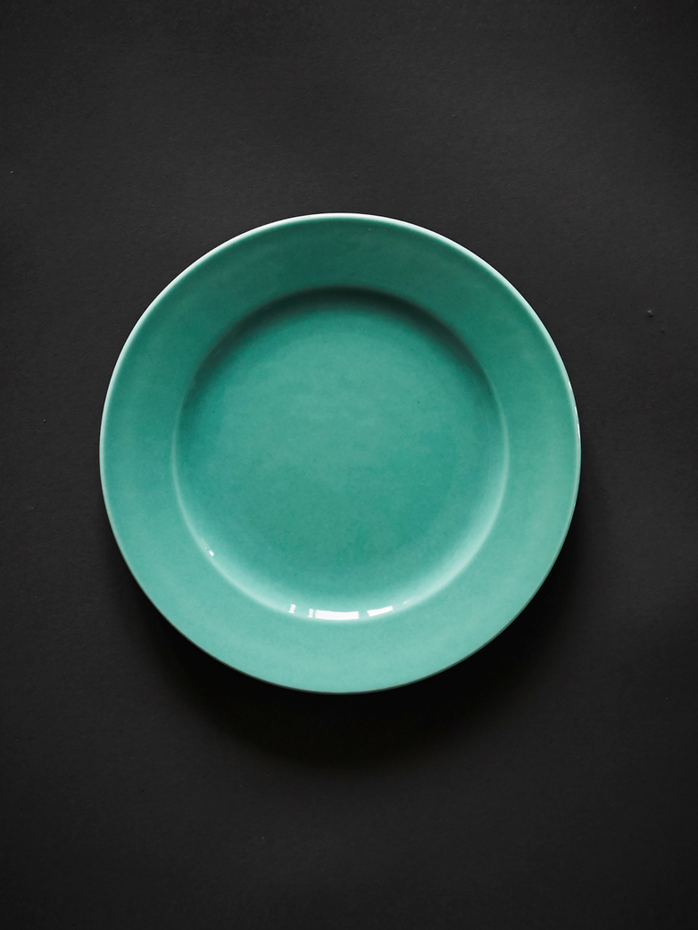 Rainbow Plate S - Turquoise