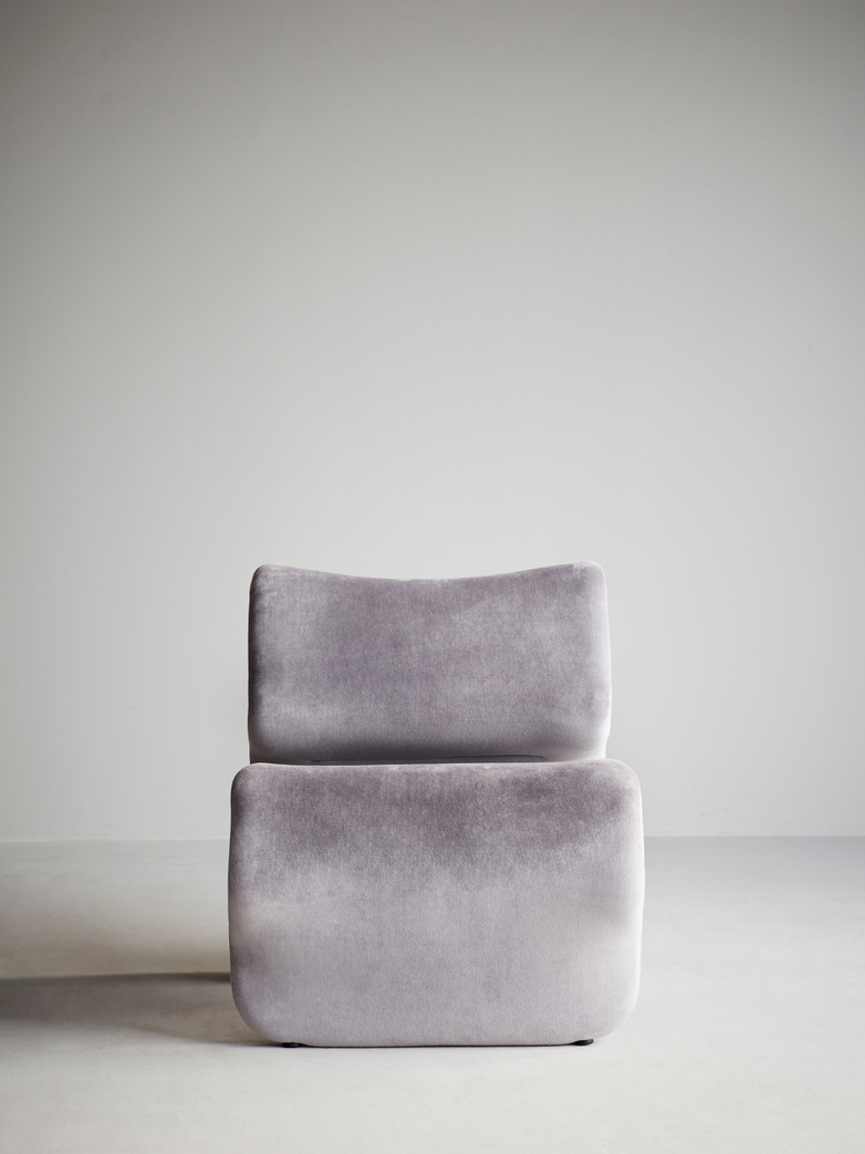 Etcetera Easy Chair – Zink Grey