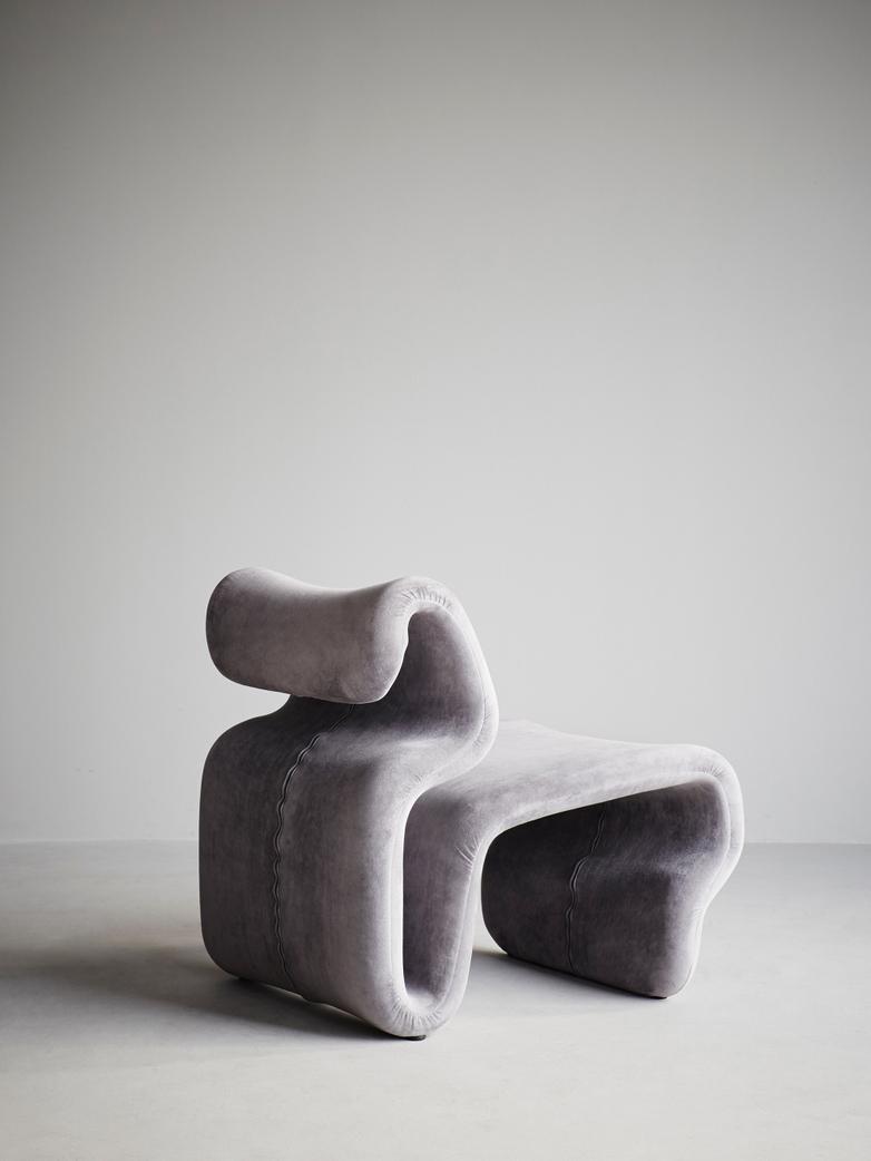 Etcetera Armchair – Zink Grey