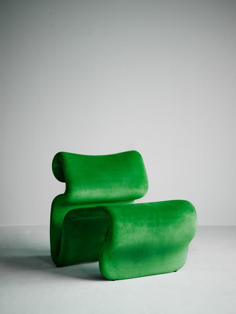 Etcetera Armchair – Grass Green