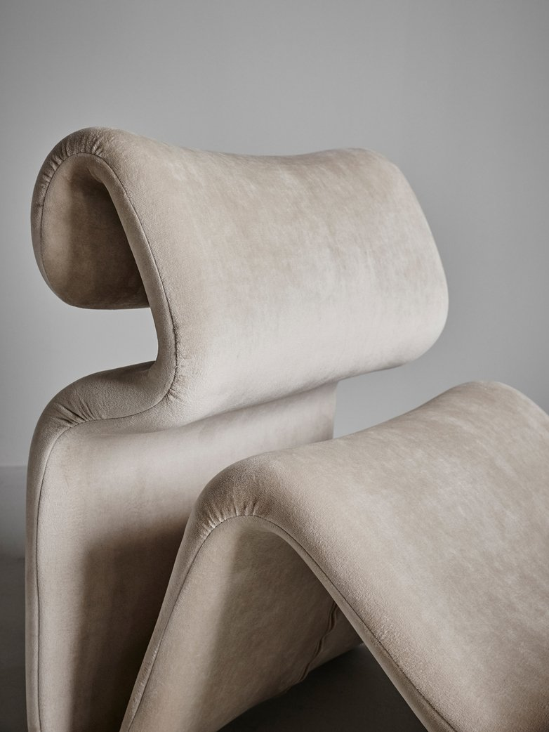 Etcetera Lounge Chair – Sand Beige