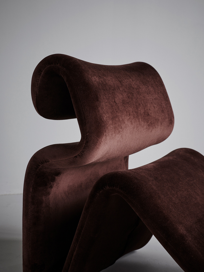 Etcetera Lounge Chair – Chocolate Brown