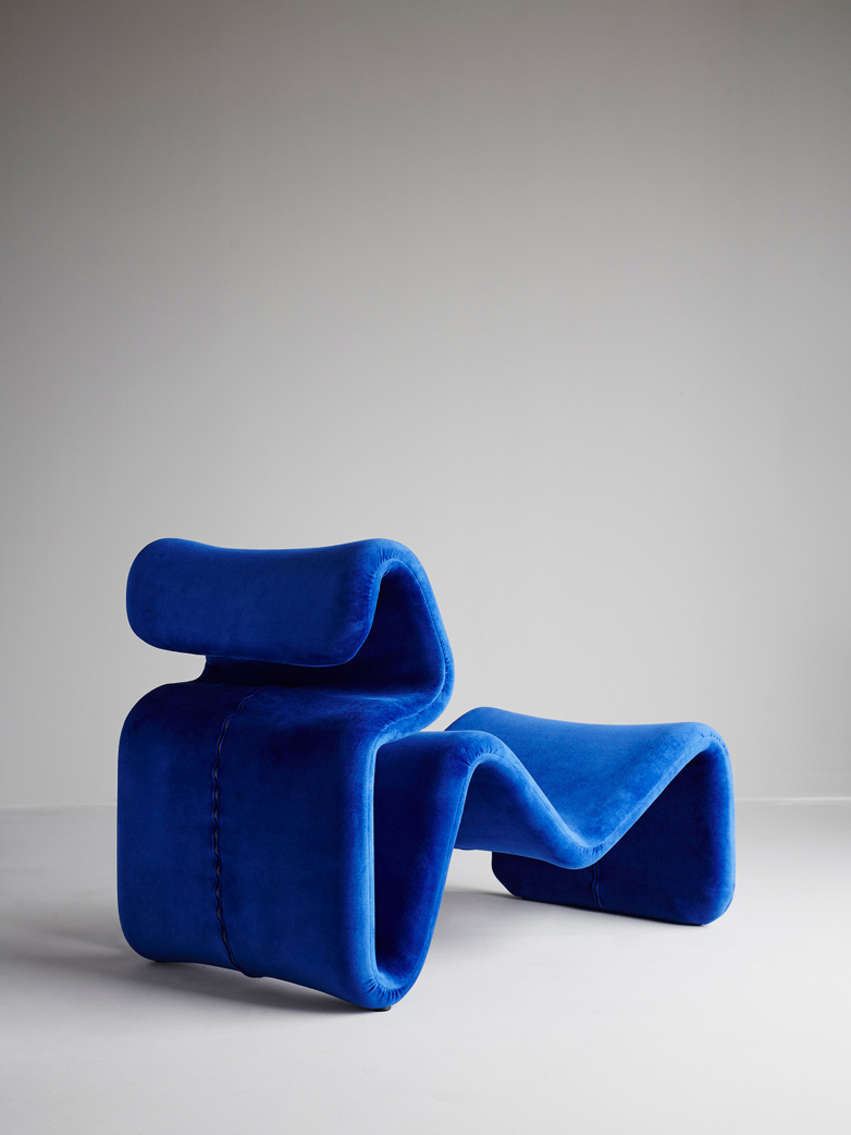Etcetera Lounge Chair – Klein Blue